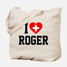 I Love Roger Tote Bag