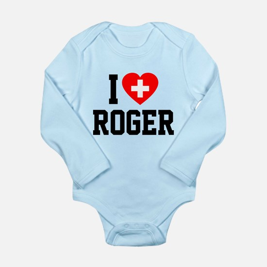 I Love Roger Baby Outfits