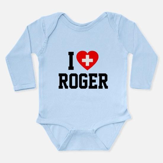 I Love Roger Onesie Romper Suit