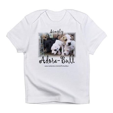 Adora-Bull Creeper Infant T-Shirt