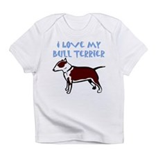 Bull Terrier (Colored) Creeper Infant T-Shirt