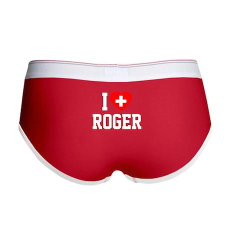 I Love Roger Women's Boy Brief