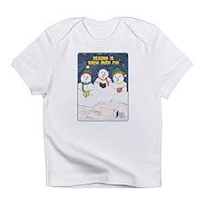 RIF Snowmen Creeper Infant T-Shirt