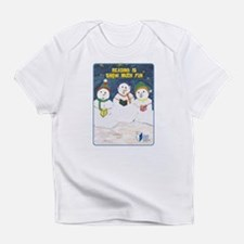 RIF Snowmen Creeper Infant T-Shirt