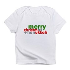Merry Christmas and Hanukkah ~ Creeper Infant T-Sh