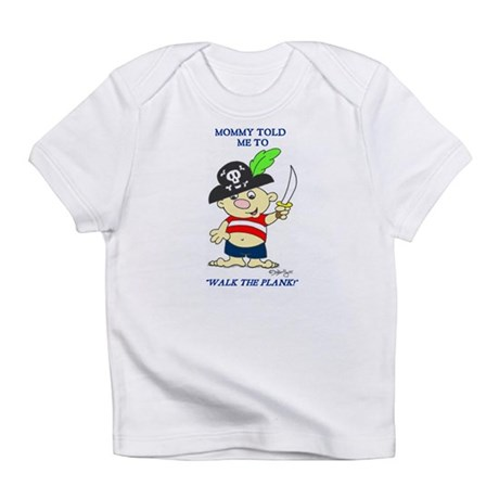 Walk the Plank Creeper Infant T-Shirt