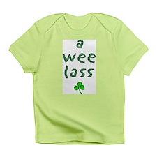 a wee lass Creeper Infant T-Shirt