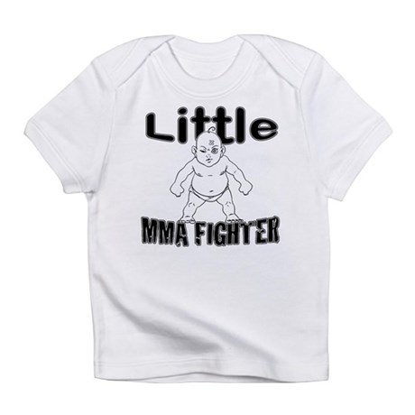 Little MMA Fighter - Bad Baby Infant T-Shirt