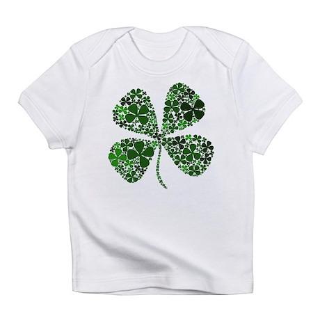 Extra Lucky Four Leaf Clover Infant T-Shirt