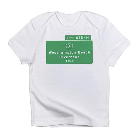 Westhampton Beach Exit Infant T-Shirt