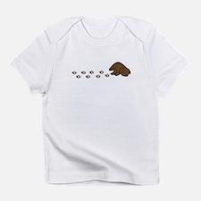 Muddy Chocolate Lab Baby Infant T-Shirt