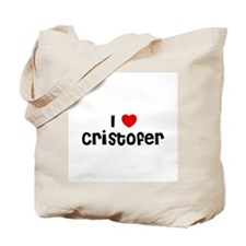 I * Cristofer Tote Bag