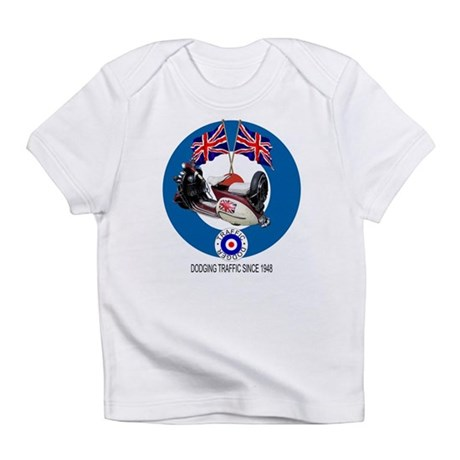 Union Jack Scooter Infant T-Shirt