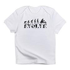 Vespa Scooter Evolution Infant T-Shirt