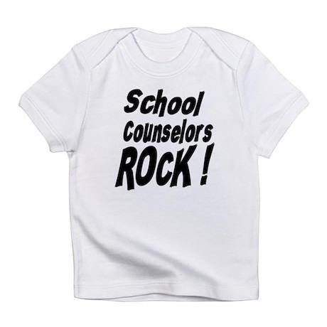 School Counselors Rock ! Infant T-Shirt