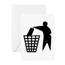 Trash Man Recycles Greeting Cards (Pk of 10)