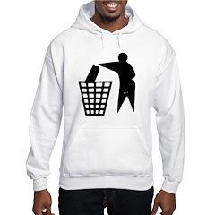 Trash Man Recycles Hoodie