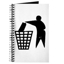 Trash Man Recycles Journal