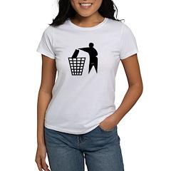 Trash Man Recycles Women's T-Shirt