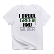 GREEN AND SILVER (Phil) Infant T-Shirt