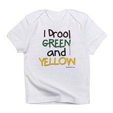 GREEN and YELLOW (GB) Infant T-Shirt