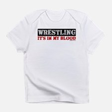 WRESTLING (IT'S IN MY BLOOD) Infant T-Shirt
