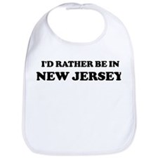 Rather be in New Jersey Bib