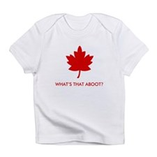 What's THAT Aboot? Creeper Infant T-Shirt