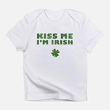 Kiss Me I'm Irish Infant T-Shirt
