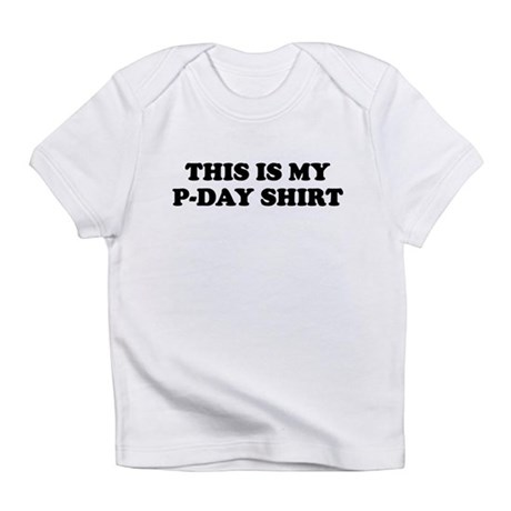 P-DAY SHIRT FUNNY MORMON MISSIONARY Infant T-Shirt
