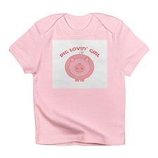 Pig girl Creeper Infant T-Shirt
