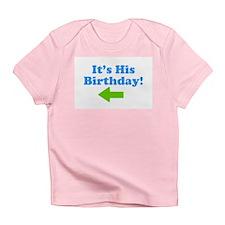His Birthday 2 Creeper Infant T-Shirt