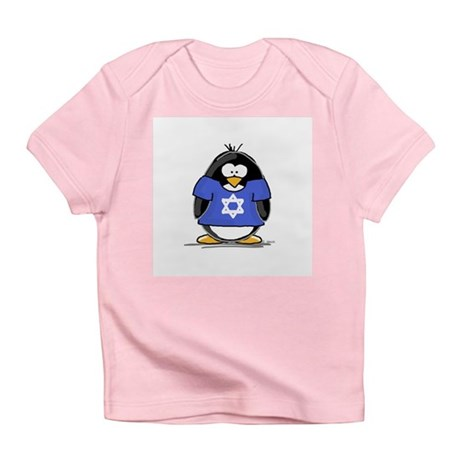 Star of David Penguin Infant T-Shirt