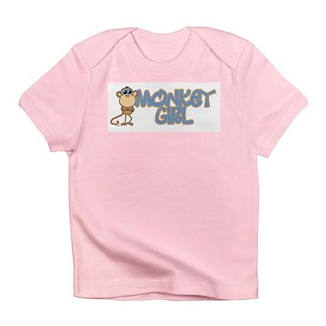 Monkey Girl Infant T-Shirt