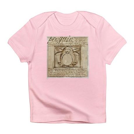 Vitruvian Penguin Infant T-Shirt