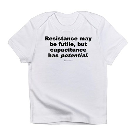 Resistance may be futile - Creeper Infant T-Shirt