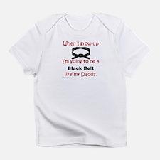 Cute Taekwondo kids Infant T-Shirt