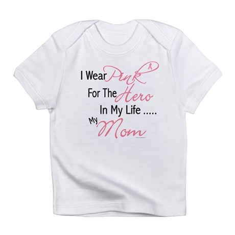 Pink For My Hero 1 (Mom) Infant T-Shirt
