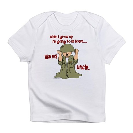 Brave Like My Uncle 1 Infant T-Shirt