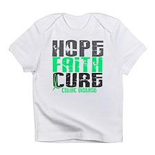 HOPE FAITH CURE Celiac Disease Infant T-Shirt