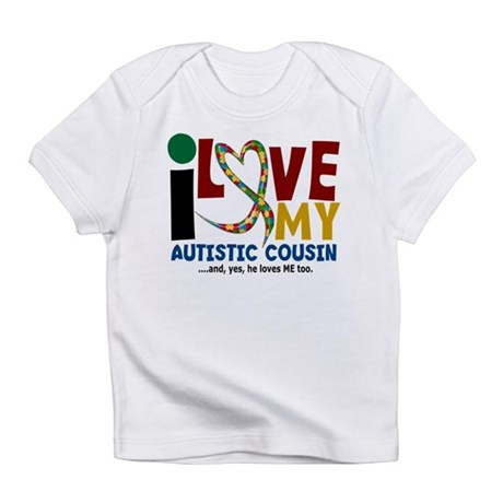 I Love My Autistic Cousin 2 Infant T-Shirt