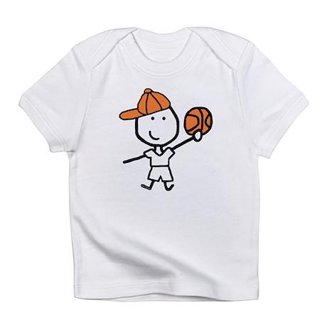 Boy & Basketball Infant T-Shirt