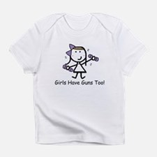 Exercise - Girls Guns Infant T-Shirt