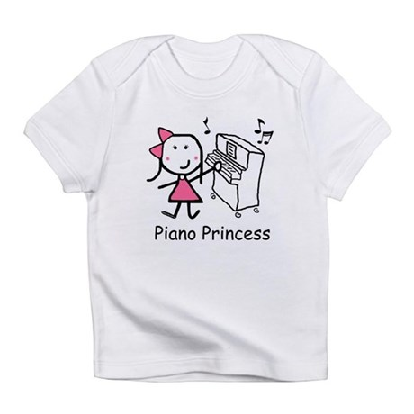 Piano - Princess Infant T-Shirt