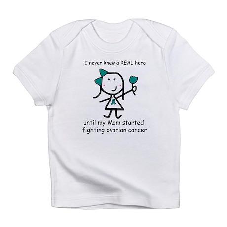 Teal Ribbon - Hero Mom Infant T-Shirt