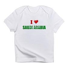 I love Saudi Arabia Infant T-Shirt
