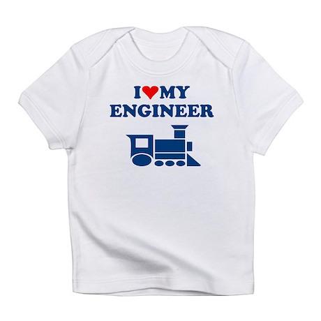ENGINEER SHIRT I LOVE MY ENGI Infant T-Shirt