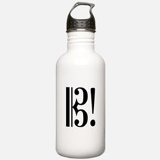 Alto Clef Exclaimed Water Bottle