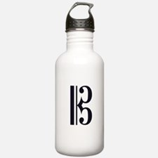 Classic Alto Clef Water Bottle