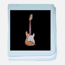 Electric guitar baby blanket
